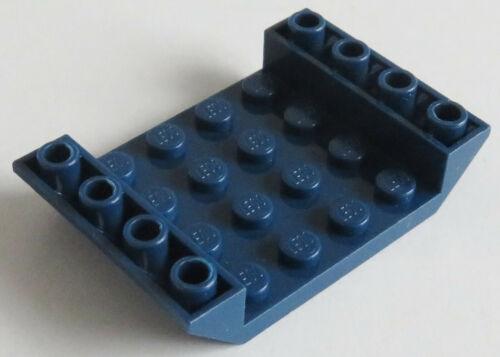 2 x Dachstein invers 45 6 x 4 doppelt mit 4 x 4 cutout dkl blau # 30283 LEGO