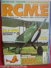 "RCM&E NOVEMBER 2003 RIPMAX SE5A REVIEW ARCHANGEL 72"" SPAN GLIDER PLAN"