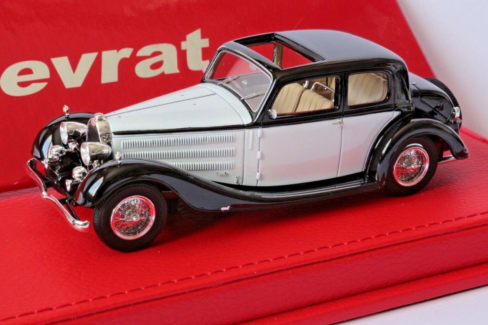Bugatti T57 Galibier Vanvooren  57414 version origine  1/43 EVRAT EVR217