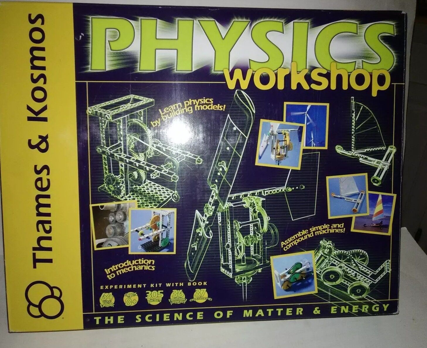 Physics Workshop Kids Science Experiments Kit Toy Set by Thames & Kosmos