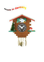 Schwarzwald Miniatur Pendulum clock o Quartz. Spring movement, Made in Germany