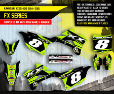 2014 - 2015 KX 85 100 GRAPHICS KIT KAWASAKI KX85 KX100 MOTOCROSS BIKE DECALS
