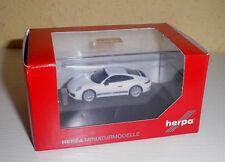 """Porsche 911 Carrera 2S """" Porsche """" weiß in 1:87 von Herpa 101967"""