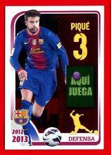 FC BARCELONA 2012-2013 Panini - Figurina-Sticker n. 66 - PIQUE -New