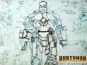 ironman mk1 cave schematics blueprints prop replicas ebay rh ebay com Iron Man Mark 1 Blueprints Iron Man Diagram