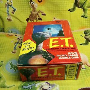 1982-Topps-ET-Unopened-Box-36-Mint-Packs-Original-Stock-NICE