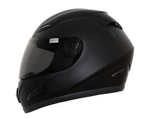 Motorradhelm-Integralhelm-Schwarz-matt-Groesse-L-mit-ECE-2205-Intergralhelm-Helm