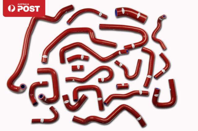 For Nissan Silvia/180SX/200SX S13 CA18DET 89-94 Silicone Radiator Heater Hose
