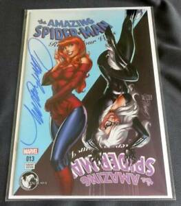 AMAZING SPIDERMAN RENEW YOUR VOWS 13 UNKNOWN J SCOTT CAMPBELL B RED VARIANT NM