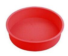 9 Inches Big Round Flexible Silicone Cake Baking Mold Cake Pans DIY Baking Tray