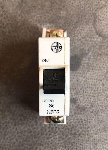 Wylex MCB 6A SP Type B