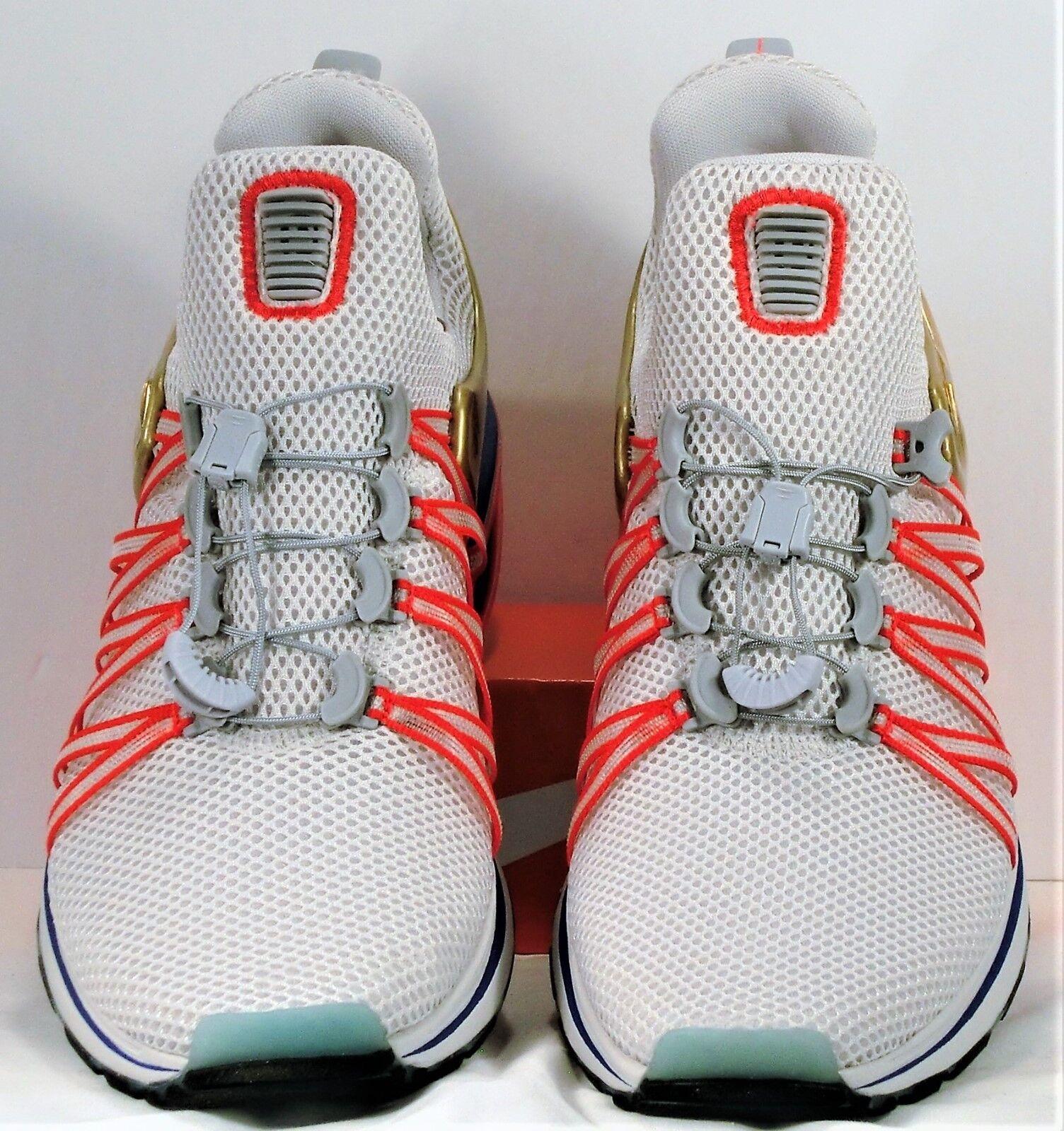 Nike shox schwerkraft riesige Grau Grau riesige & metallic gold laufschuhe sz 11 neue aq8553 009 ee06e9