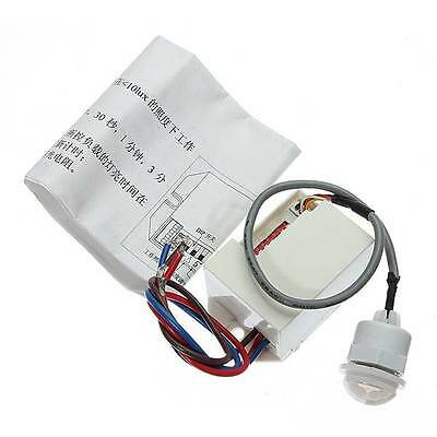 220V PIR Motion Sensor Detector for 12V DC Timer Relay Automotive Caravan Alarm