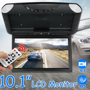 10-1-039-039-Car-Roof-Mount-Monitor-LCD-TFT-Flip-Down-Digital-Wide-Screen-MP5