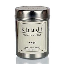 Khadi Natural Herbal Indigo Hair Color Unique Formulation Natural Goodness 150gm