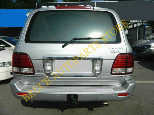 Chrome ABS Rear Trunk License Tail Gate Molding Cove For Lexus LX470 2003-2007