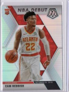 2019-20 Cam Reddish Panini Mosaic NBA Debut Silver RC #271 Rookie Card Prizm