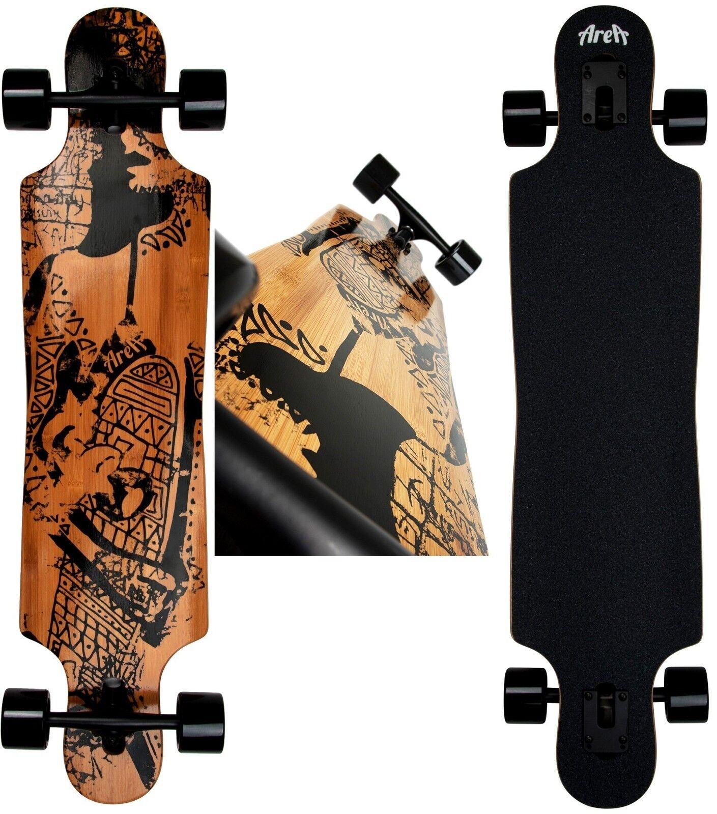 Longboard AREA Tribal Curve Modell  Skateboard Neu