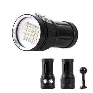 Professional Diving Equipment 100m Xm L2 Scuba Flashlights 26650 Waterproof Led Torch Lampe Torche Underwater Photo Fill Light Led Flashlights