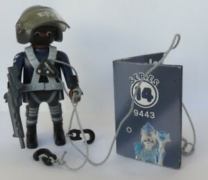 Playmobil 9443 Mystery Figures Boys Series 14 SPECIAL FORCES FIGURE POLICE SWAT