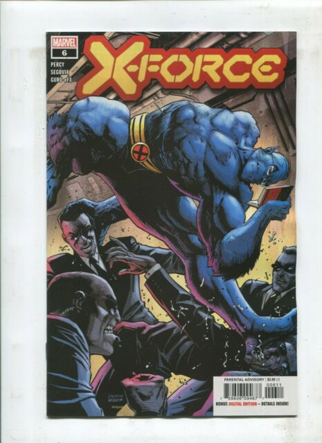 X-FORCE #6 DX - MARVEL
