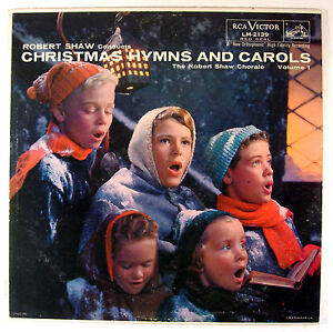 ROBERT-SHAW-CHORALE-CHRISTMAS-HYMNS-amp-CAROLS-VOL-1-LP-RCA-LM-2139
