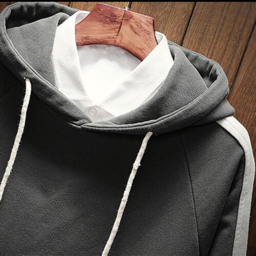 Men/'s Jumper Hoodie Sweatshirt Hooded Coat Jacket Sweater Pullover Cardigan Tops