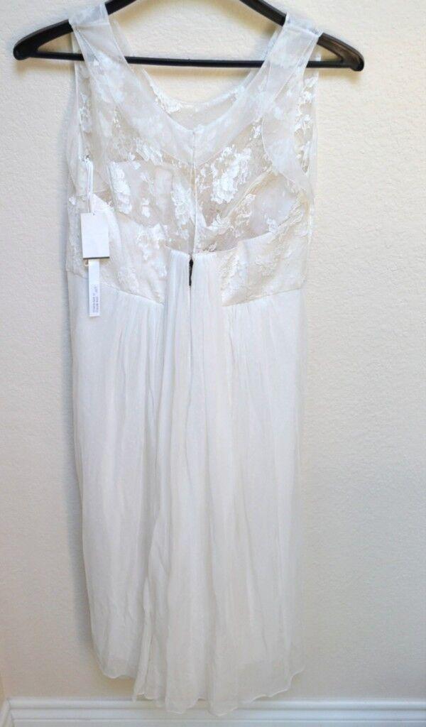New Peter Som Lace Allegra Designer Dress Größe 12  Retail Evening Cocktail