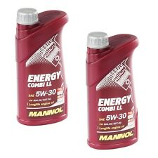5W-30 Motoröl 2 L Mannol Energy Combi LL 5W-30 API SN CF BMW LL-04 MB 229.51 C30