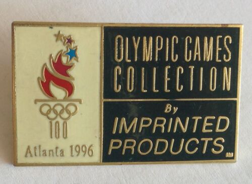 Atlanda 1996 Olympic Games Collection By Imprinted Products Pin Badge Rare F2