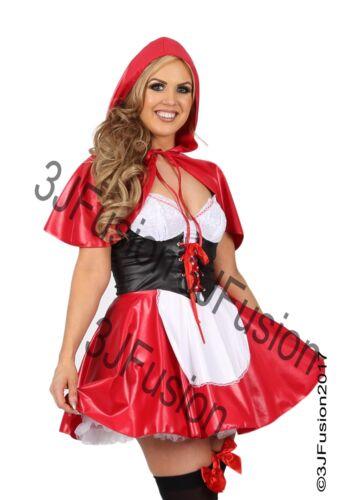 Donna Cappuccetto Rosso Costume Adulto Costume Da Donna Fiaba libro settimana