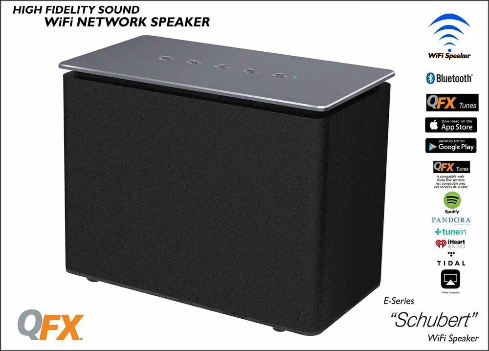 QFX Schubert Mulit-Room Wi-Fi blueetooth Speaker