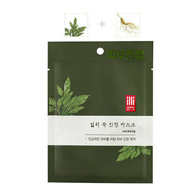 ILLI Mugwort Calming Mask Sheet 1,8,17EA, Oriental Medicine Mask Pack