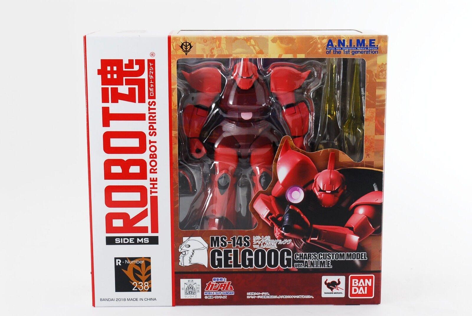 Robot Spirits Lato Ms MS14S Gelgoog CHAR'S su Misura Ver. A. N. I. M.E.cifra