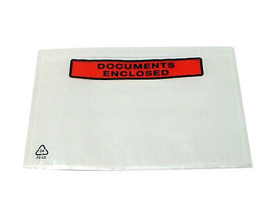 75 x A5 PRINTED Document Enclosed Wallets Envelopes