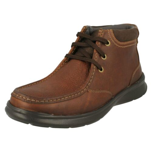 Mens Clarks Stylish Lace-Up Boots Cotrell Top