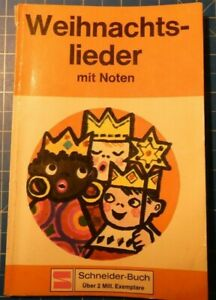 Weihnachtslieder-mit-Noten-Schneider-Buch-H8352