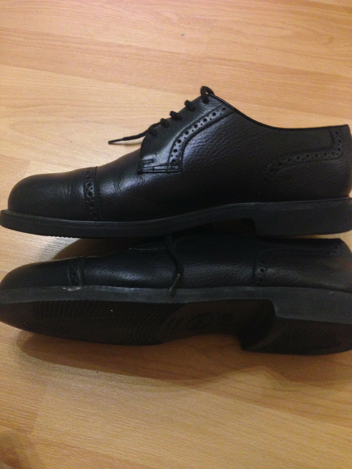 FLORSHEIM  LOAFERS  Herren BLACK  LOAFERS  Schuhe SIZE 9 1/2 , PREOWNED      KAFI 9bcc16