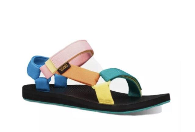 Teva Women's Original Multi Color Universal Sandals-Size 7 Women/ 5 Youth