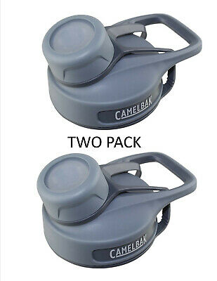 CamelBak Eddy Kids Replacement Cap//Lid /& Straw Black//Gray New - Free Shipping