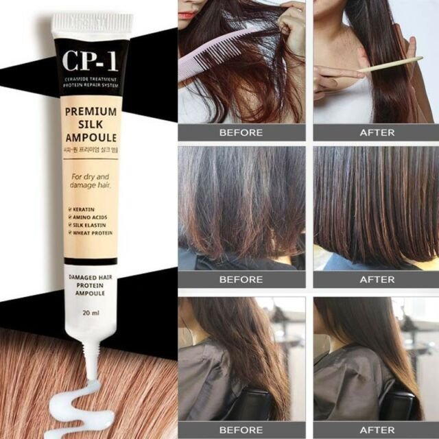 Esthetic House Cp-1 Protein Silk Ampoule 80ml for Damaged Hair Do ...