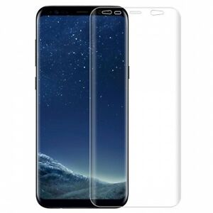 For Samsung Galaxy S8 FULL COVER SCREEN PROTECTOR HD CLEAR DISPLAY EDGE COVER