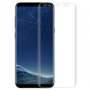 For Samsung Galaxy S8 FULL COVER SCREEN PROTECTOR HD CLEAR DISPLAY EDGE FILM