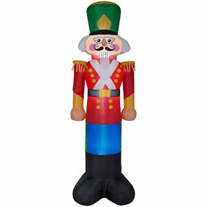 stock photo - Outdoor Toy Soldier Christmas Decorations