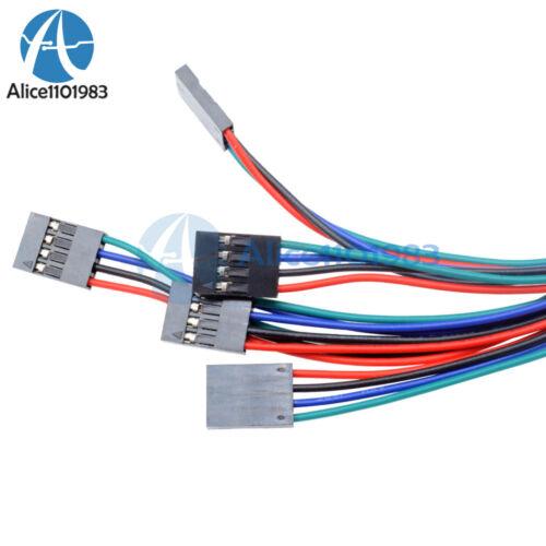 5Pcs 70cm 4Pin Cable set Female-Female Jumper Wire for Arduino 3D Printer Reprap