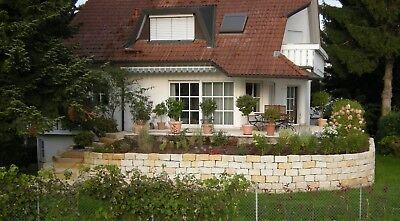 Herrlich Mauersteine 20*20*40 Steinmauer Sandstein Gelb
