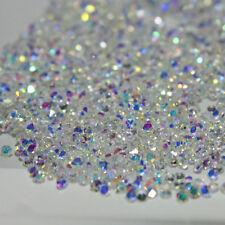 1000Pcs 1.2mm Crystal Pixie 3D Nail art Micro Zircon Mini Rhinestones Clear  DIY