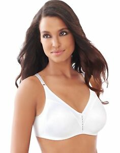 cc574b10e2726 Bali 3820 Double Support Cool Comfort Wirefree Bra 38 D White 38d ...