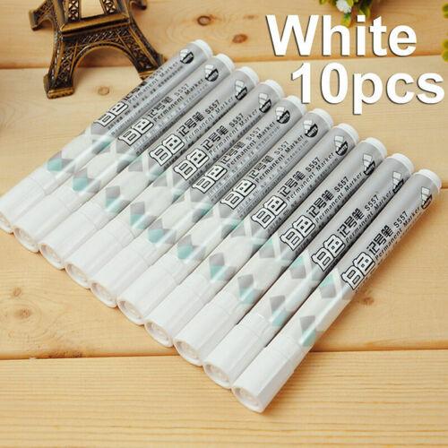 Simple permanent Marker Textmarker Farben zur Auswahl Zubehör T9S8 weiße Y7W6