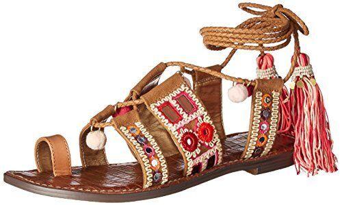 Sam Edelman Damenschuhe Gretchen Gladiator Sandale- Select SZ/Farbe.